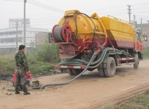 天津高压清洗管道